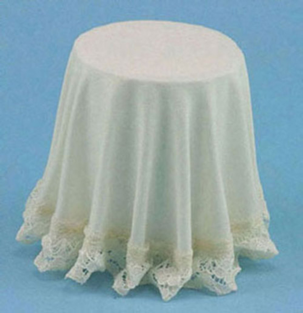 Skirted Table - Ivory