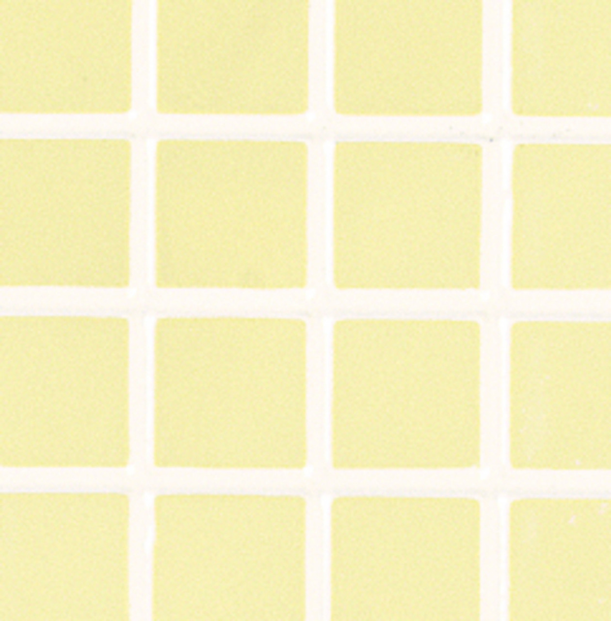 Yellow Tiles with White Grout
