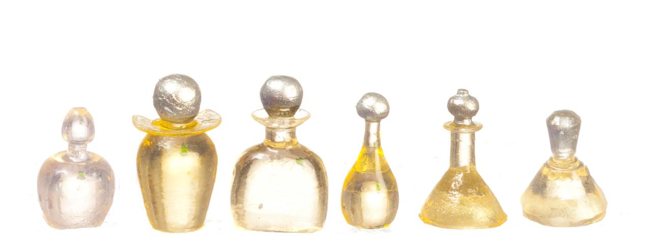Dollhouse City - Dollhouse Miniatures Assorted Bottles Set - Yellow