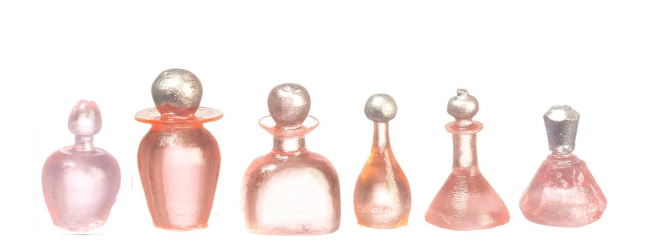 Dollhouse City - Dollhouse Miniatures Assorted Bottles Set - Pink