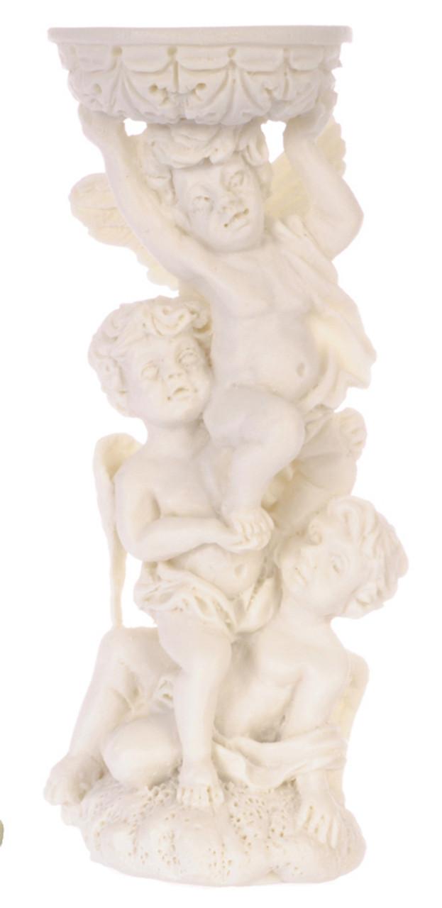 Angels Bird Bath - White