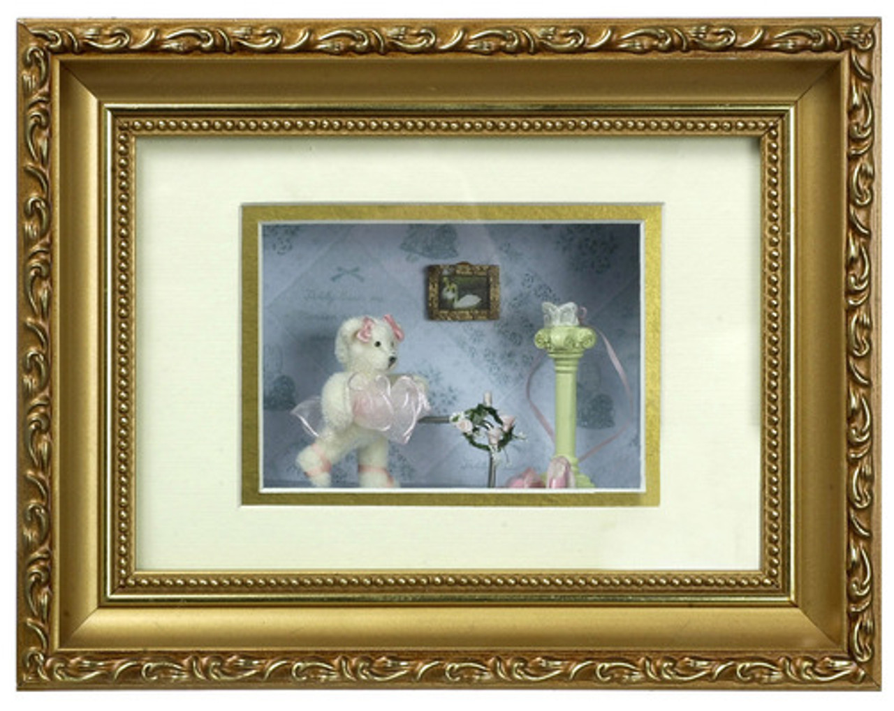 Bear with Hat - Shadowbox