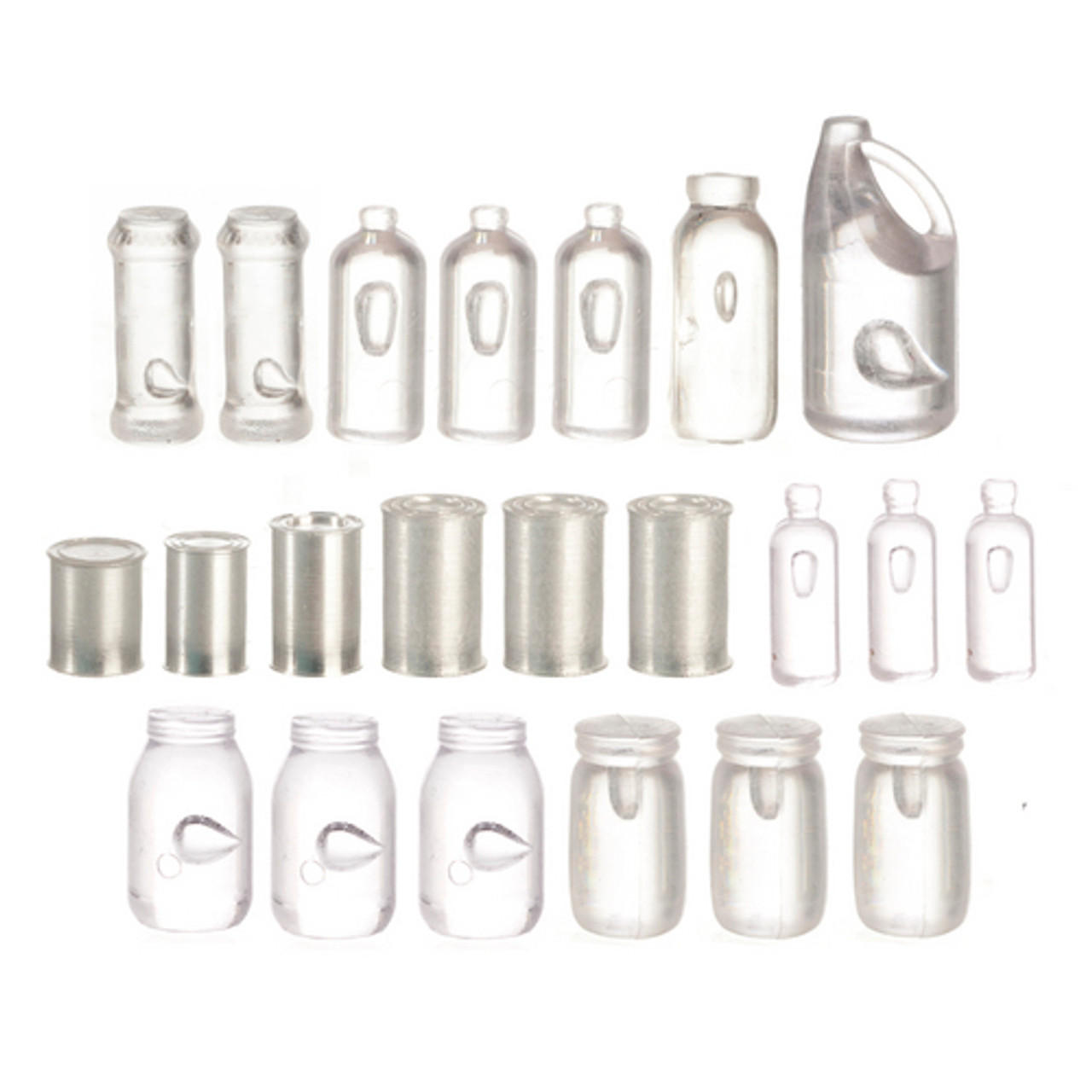 Potpourri Jars Set - Assorted