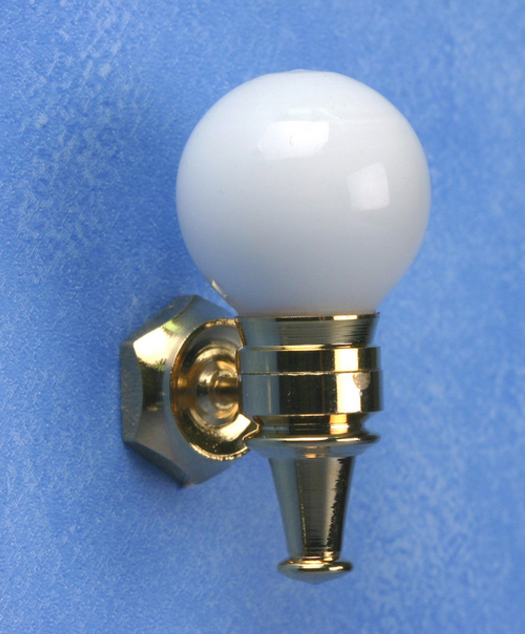 Wall Sconce - White Globe