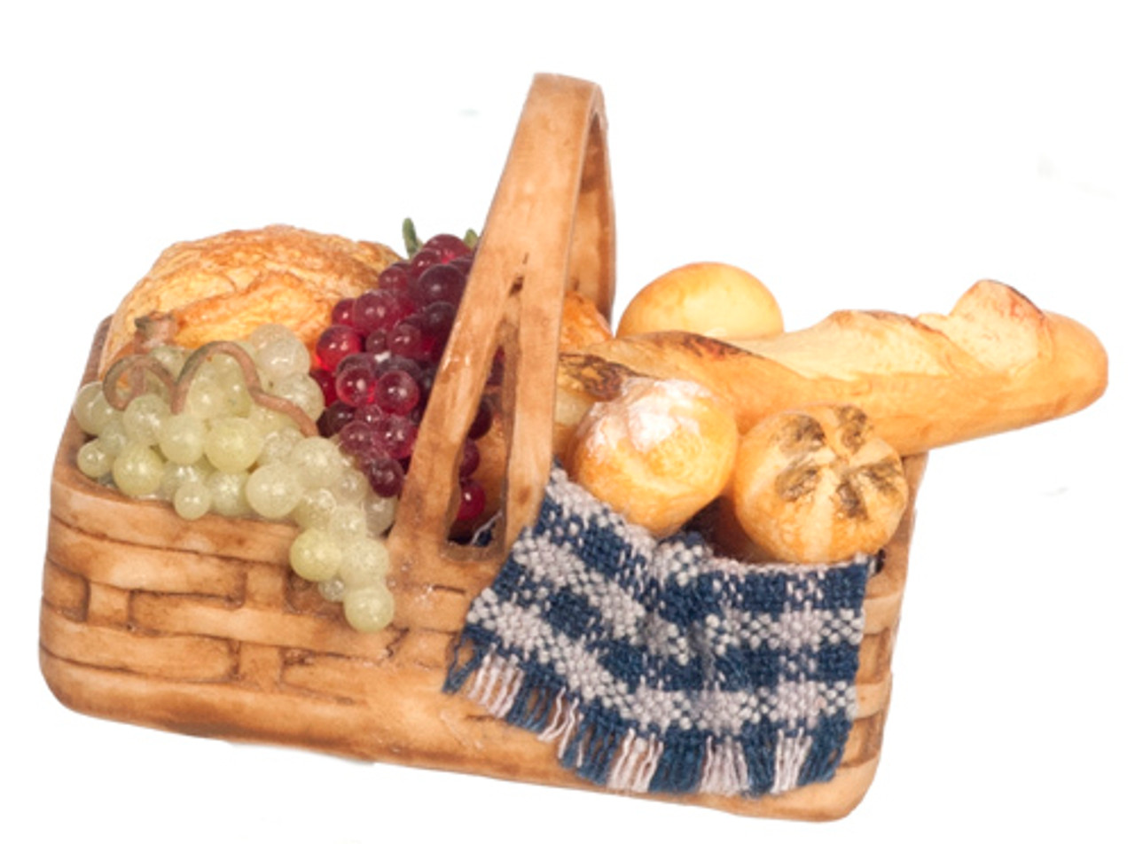 Dollhouse City - Dollhouse Miniatures Bread Basket
