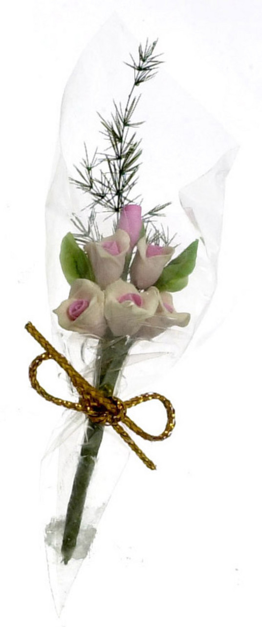 Six Rose Bouquet - Pink