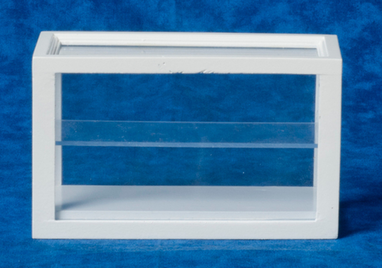 Small Display Case - White
