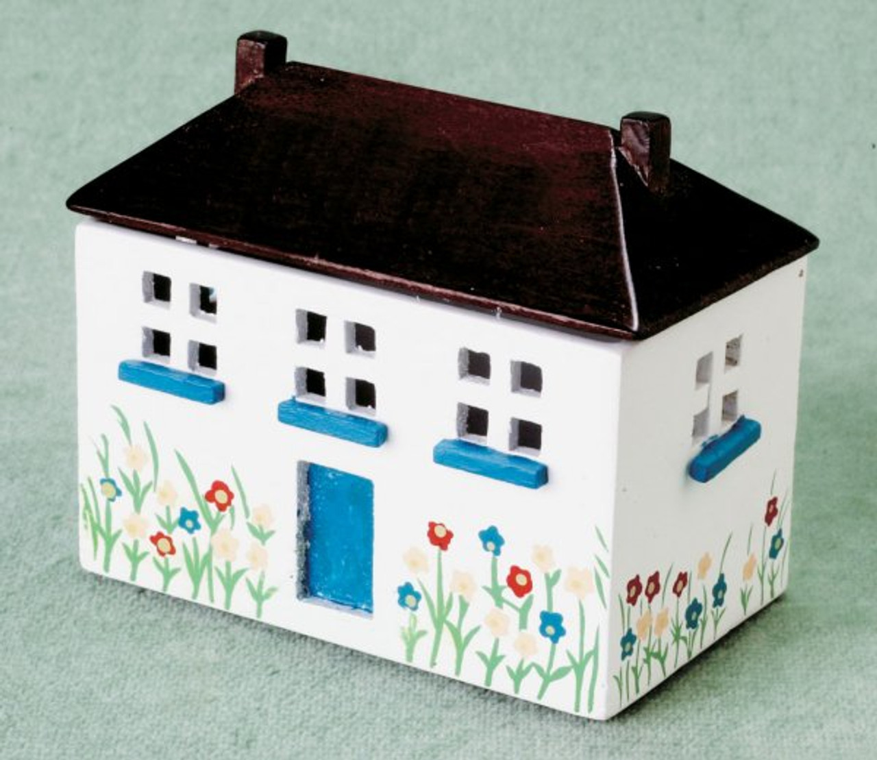 Dollhouse Toychest - Painted