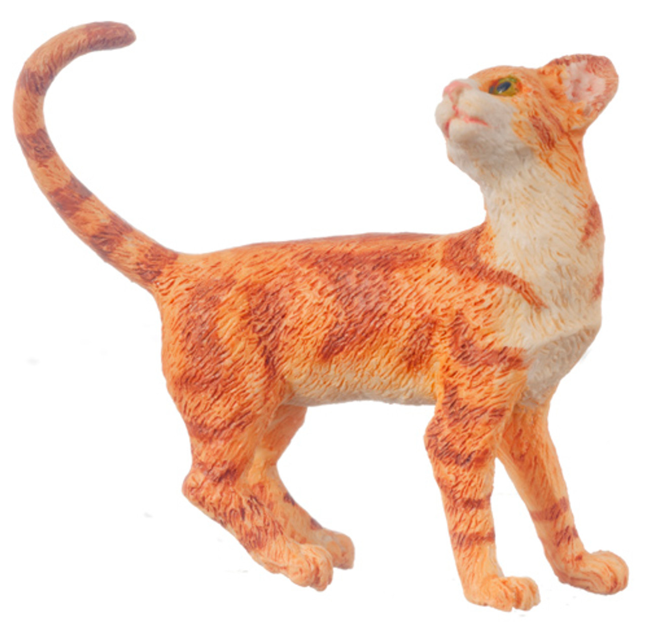 Dollhouse City - Dollhouse Miniatures Cat - Orange