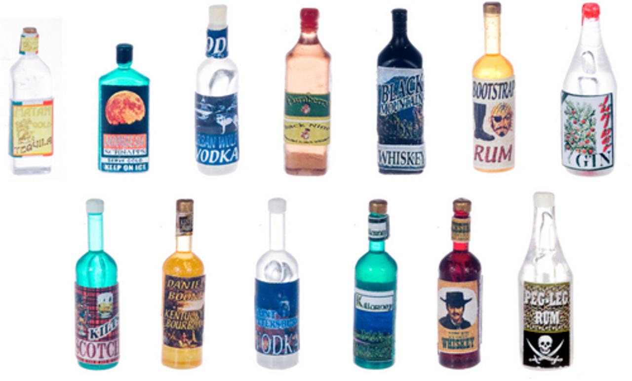 Liquior Bottles Set - Assorted