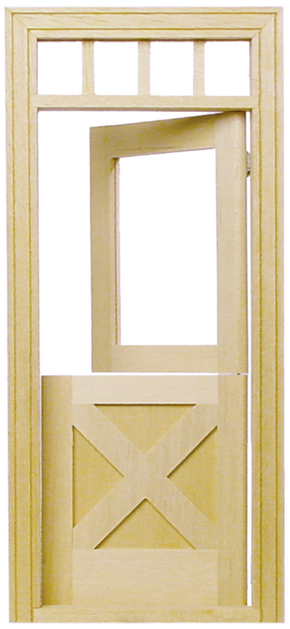 CrossBuck Dutch Door