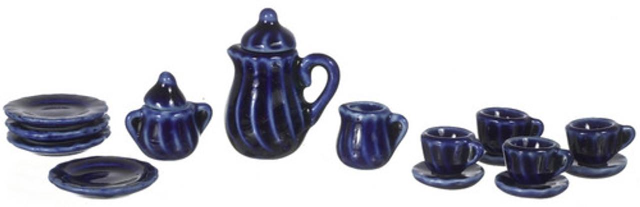 China Set - Cobalt Blue