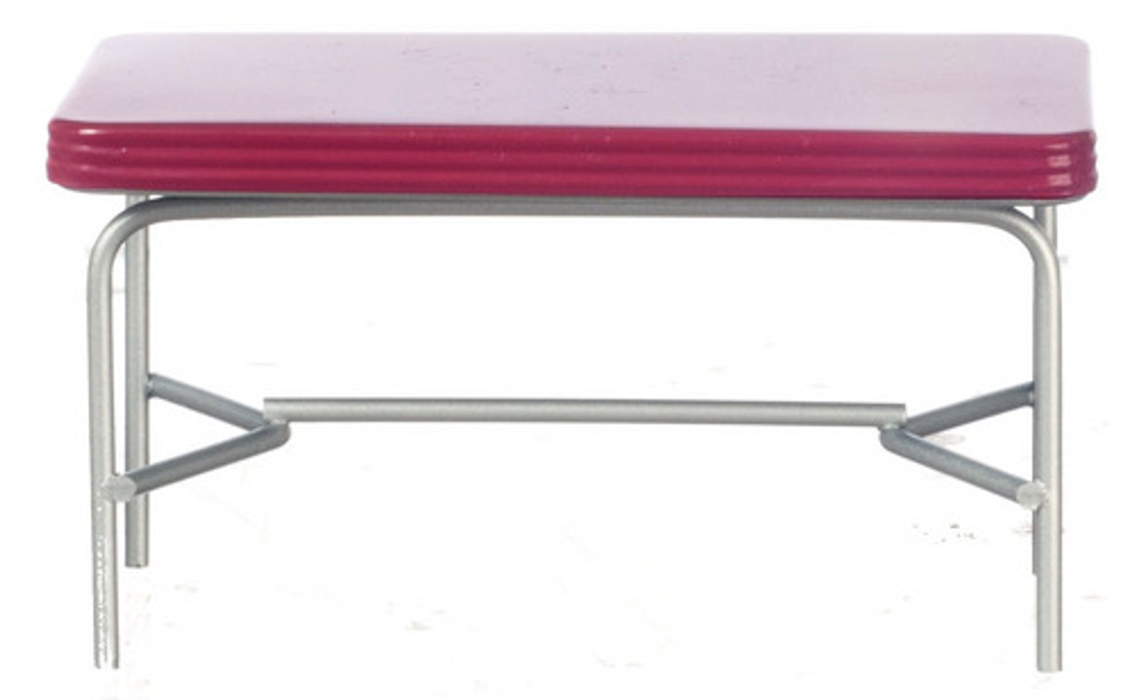 1950's Style Table - Red