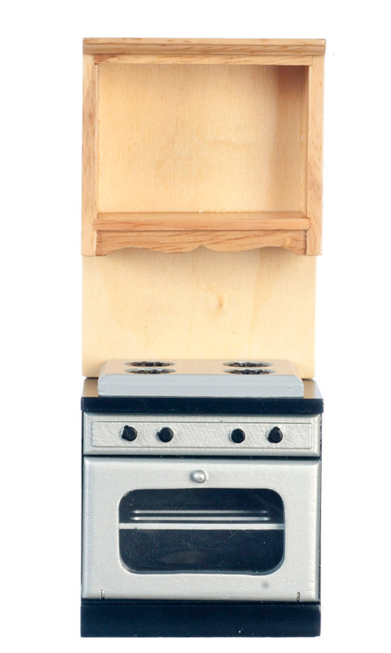 Stove and Oven with no Microwave -  Oak