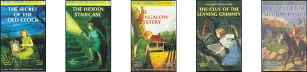 Nancy Drew Books Set