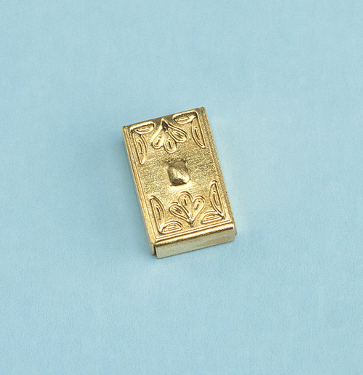Dollhouse City - Dollhouse Miniatures Brass Switch Cover