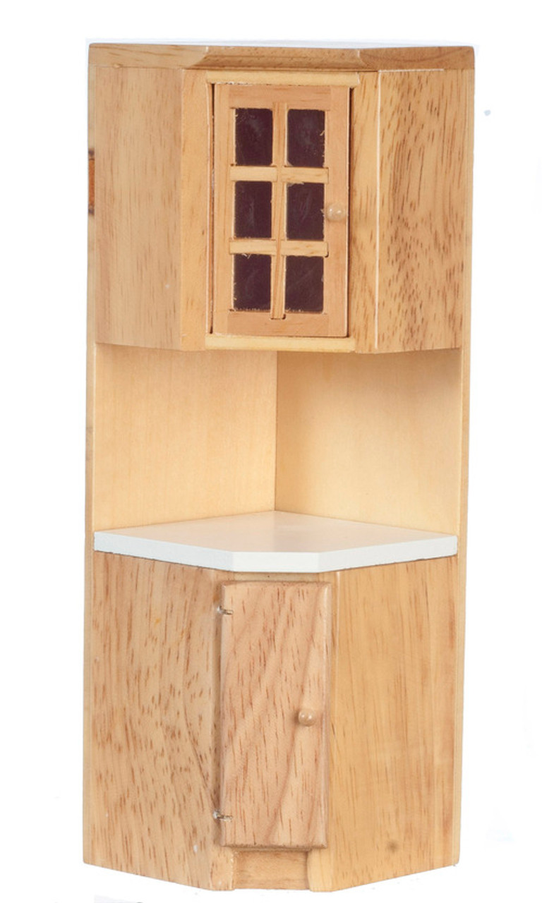 Corner Cabinet - Oak