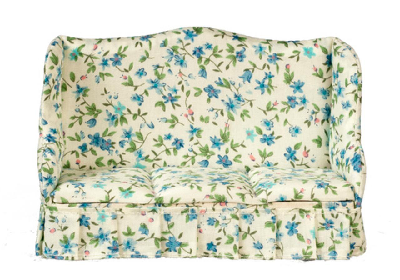 Sofa - Floral Fabric
