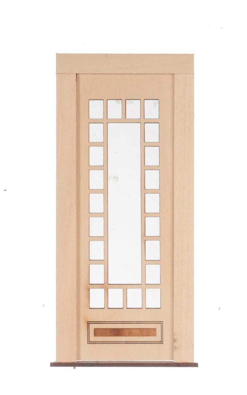 Dollhouse City - Dollhouse Miniatures 23 Light - 1 Raised Panel Door