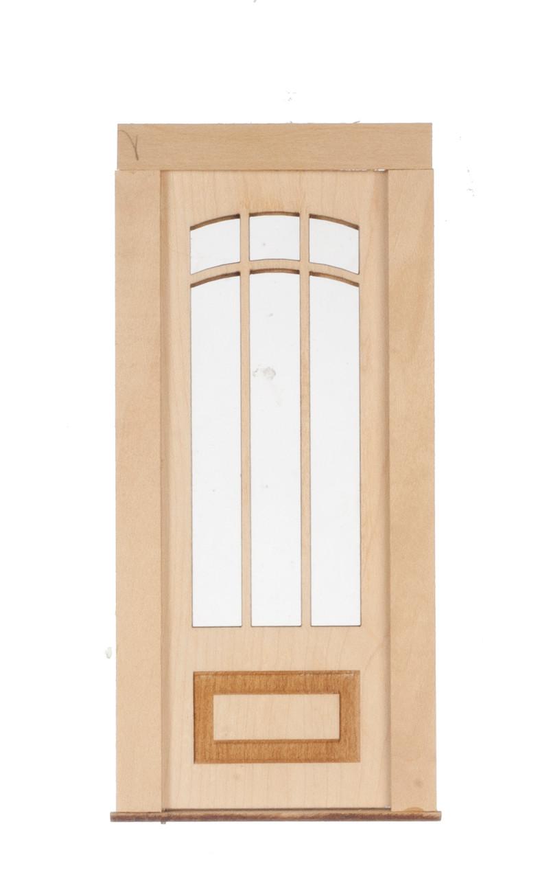 Dollhouse City - Dollhouse Miniatures 6 Light - 1 Raised Panel Door