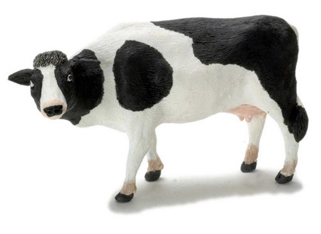 Dollhouse City - Dollhouse Miniatures Cow - Black