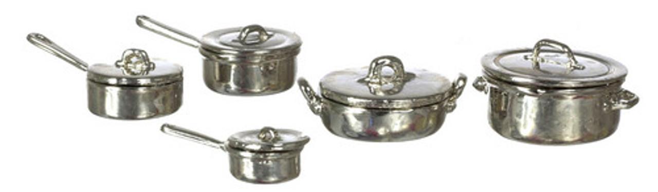 Steel Pots Set