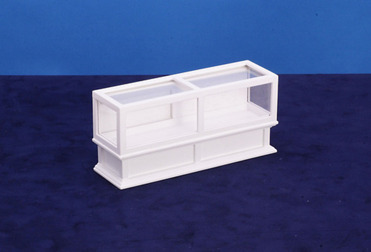 Store Display Case - White