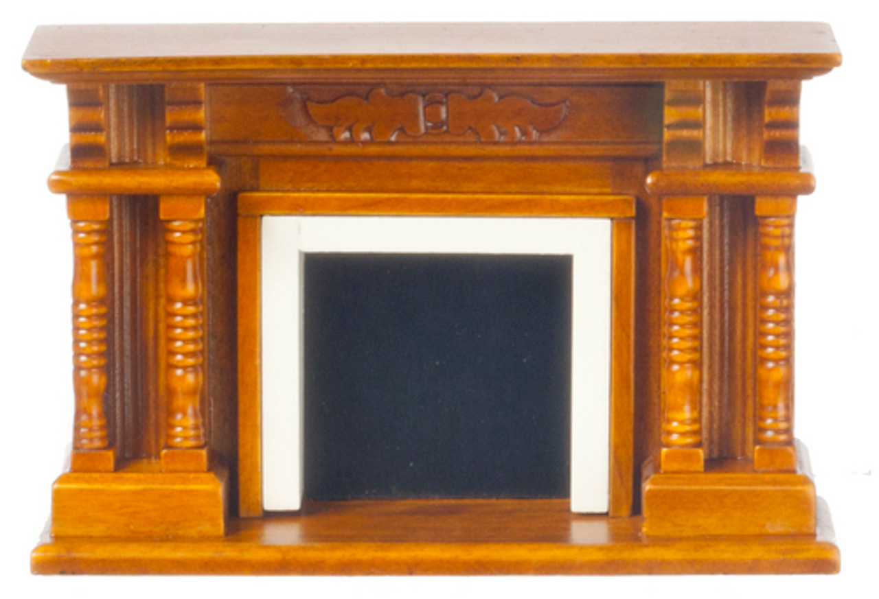 Vitorian Fireplace - Walnut
