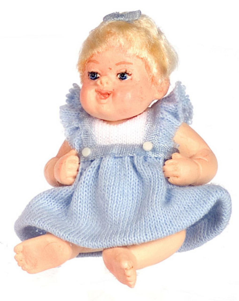 Dollhouse City - Dollhouse Miniatures Molly - Blue