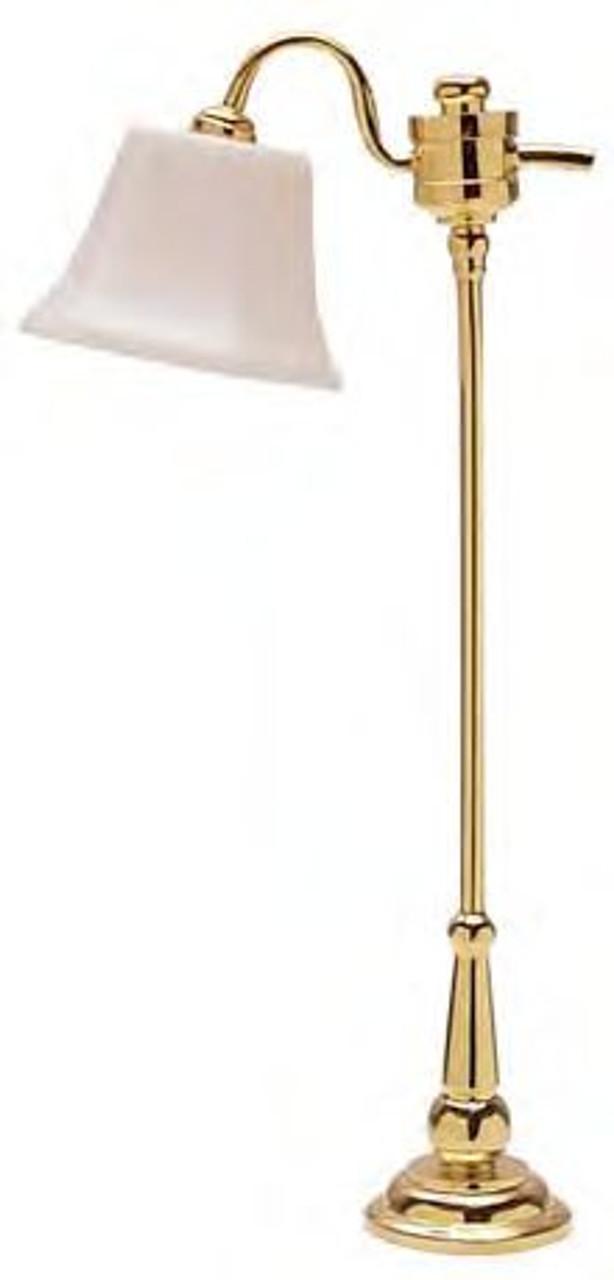 Brass Downbridge Floor Lamp