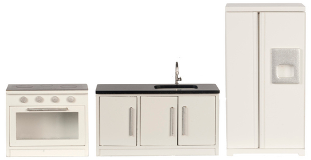 Appliance Set - White and Black