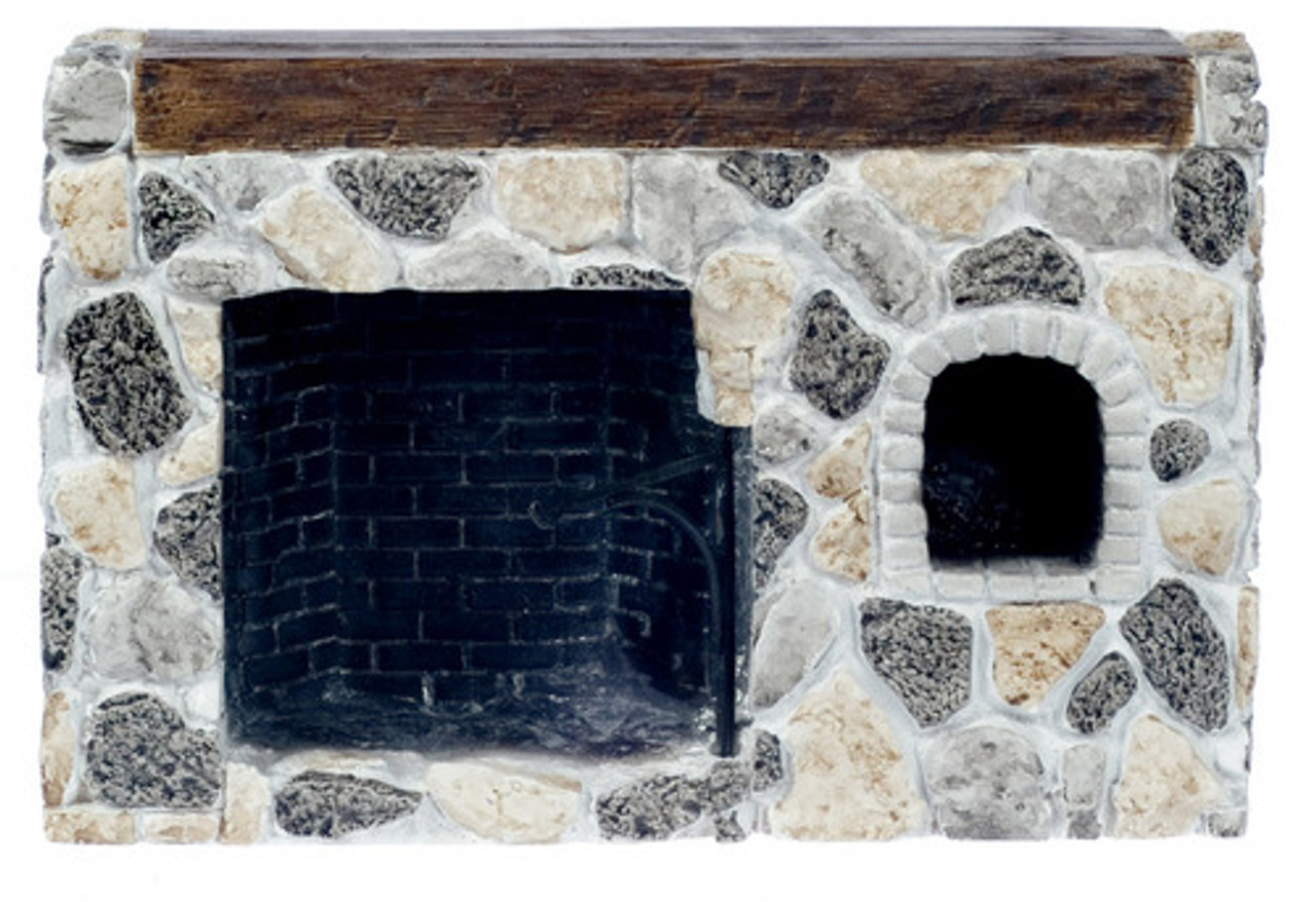 Filedstone Walk-In Fireplace
