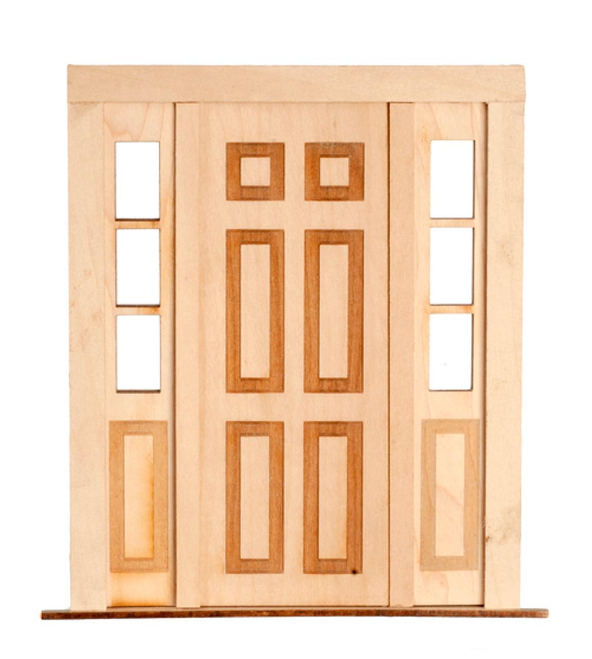 6 Raised Panel Side Light Door