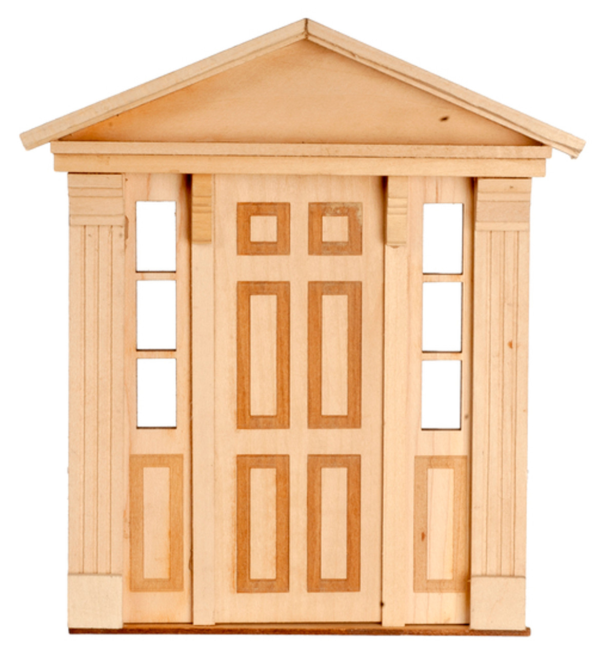 6 Raised Panel Side Federal Light Door