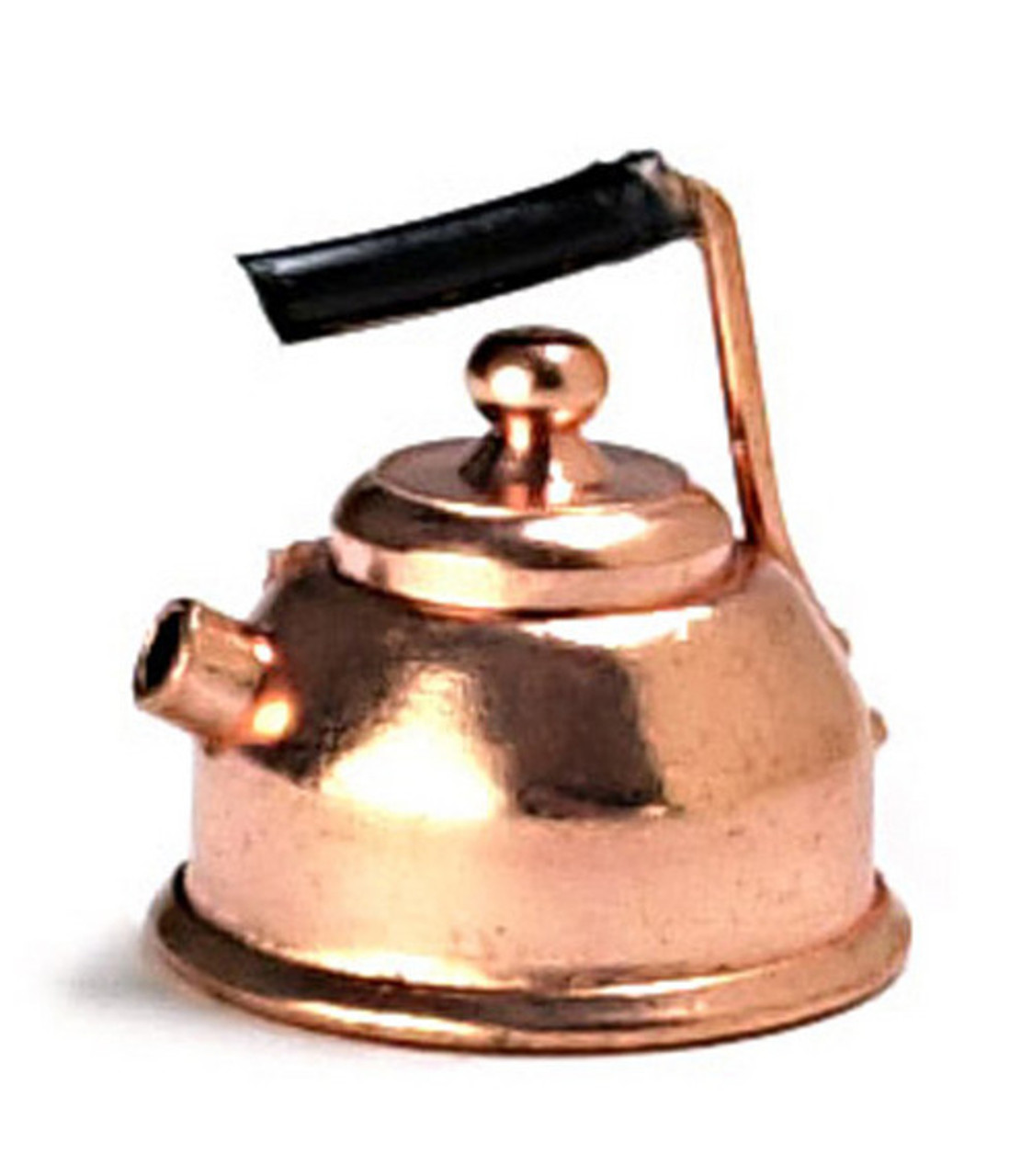 Dollhouse City - Dollhouse Miniatures Copper Teapot