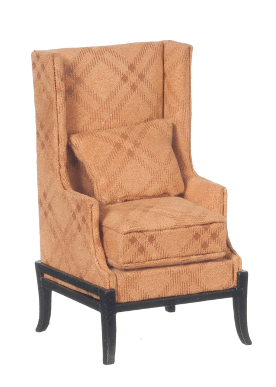 Arts and Crafts Wing Chair - Black