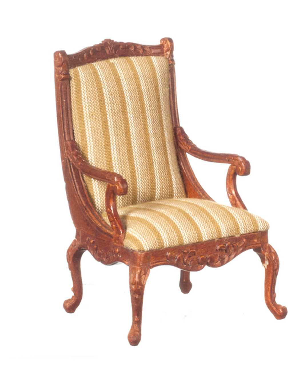 Show Wood Frame Armchair