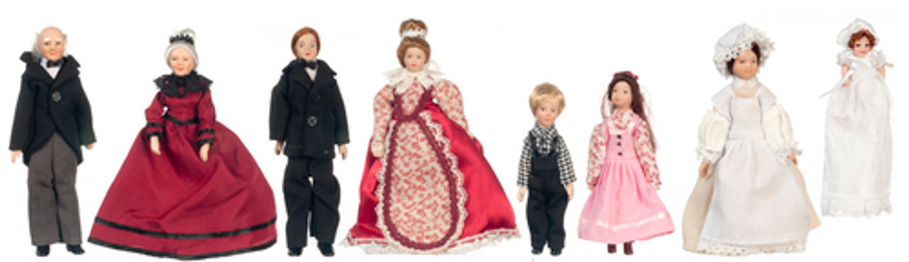Victorian Extended Family Set