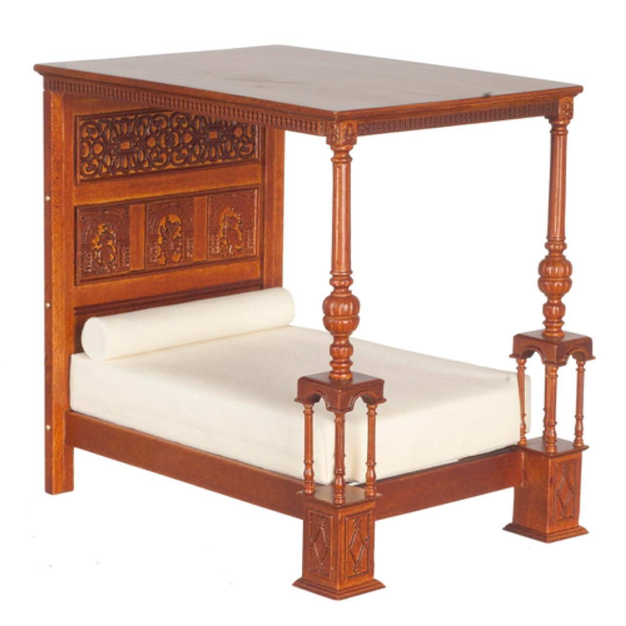 Tudor Bed - Walnut