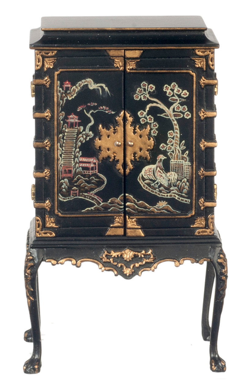 Chinese Chppendale - Cabinet Legs