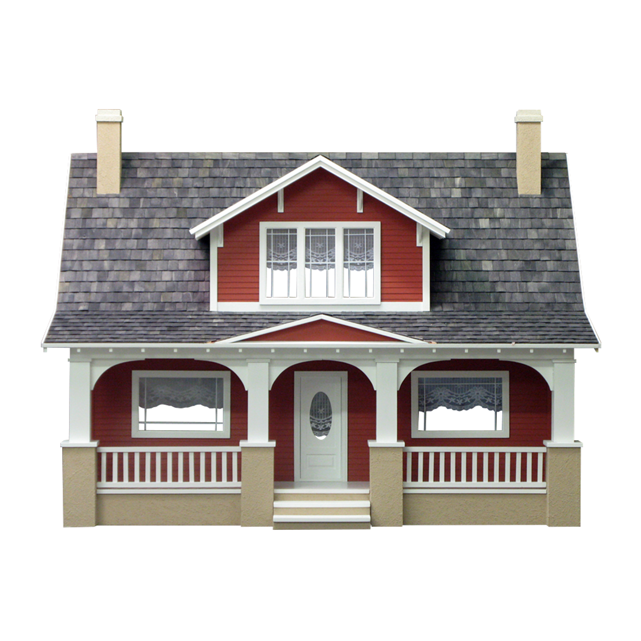 Classic Bungalow Dollhouse Kit