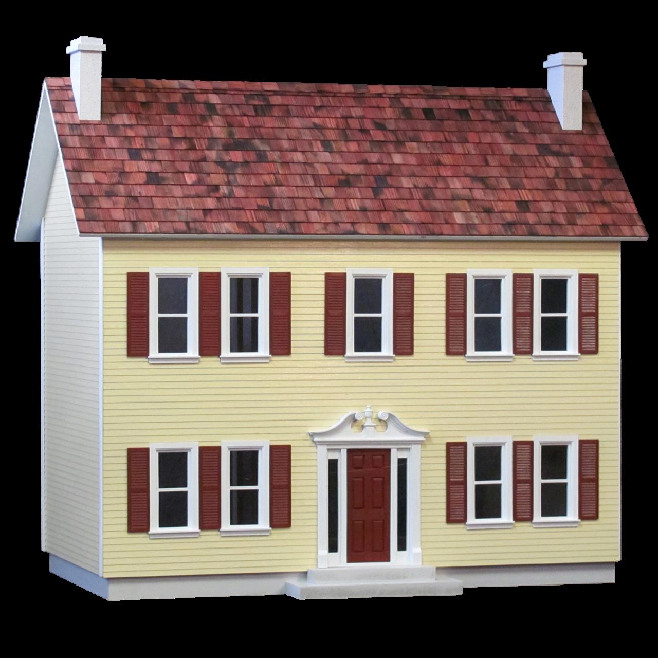The Stockbridge House Dollhouse Kit