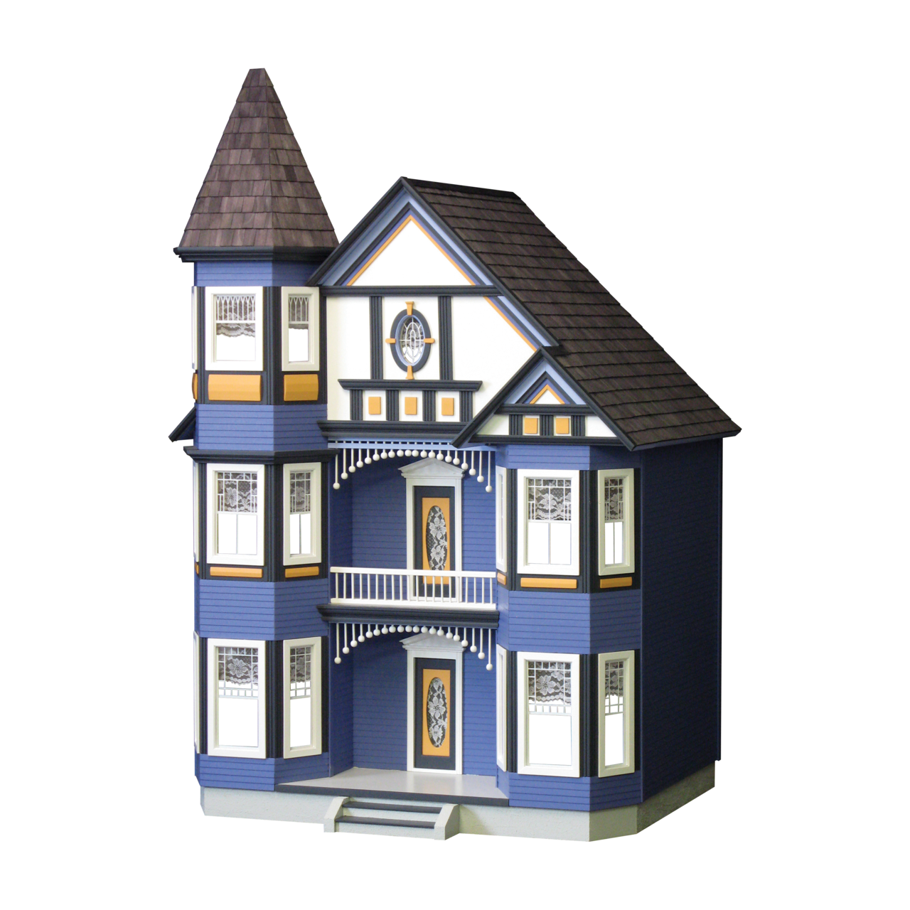 The Painted Lady Dollhouse Kit