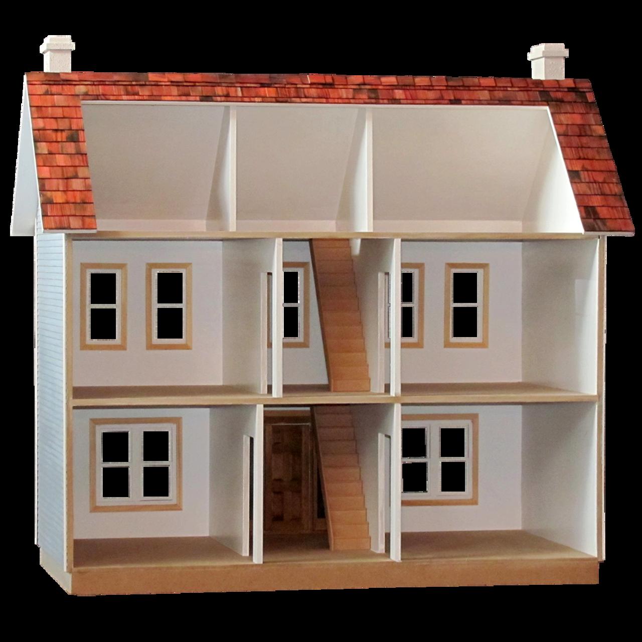 Oak Hollow Dollhouse Kit