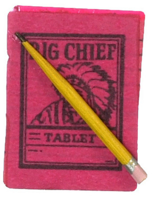 Big Chief Table and Pencil
