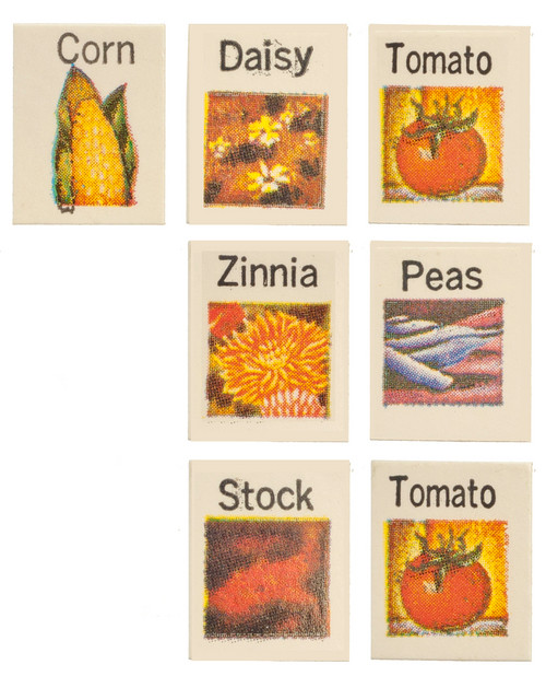 Seed Packets Set