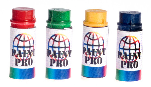 Prop Paint Spray Cans Set
