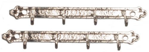 Clothes Rail Set - Silver