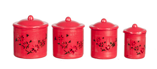Canister Set - Red
