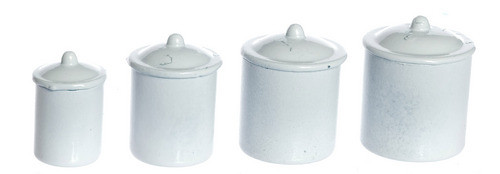 Canister Set - White